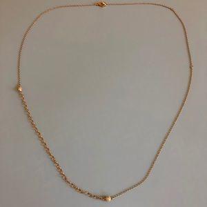 Swarovski Crystal Rose Gold necklace